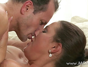 MOM MILF cant get enough of his cock